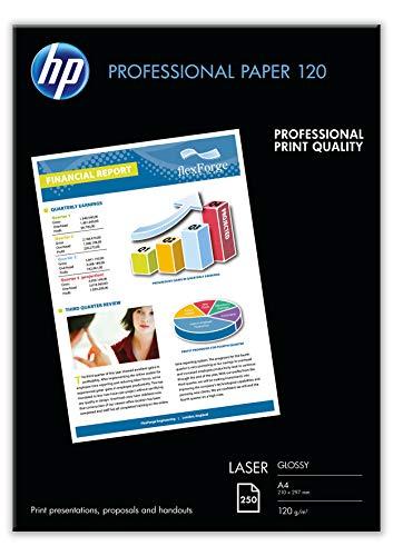 HP CG964A Business Laser-Papier glänzend (beidseitig beschichtet) 120g/m² A4 250 Blatt, weiß
