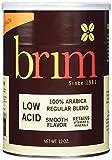 Brim Low Acid Ground Coffee, Regular Blend, 12 OZ