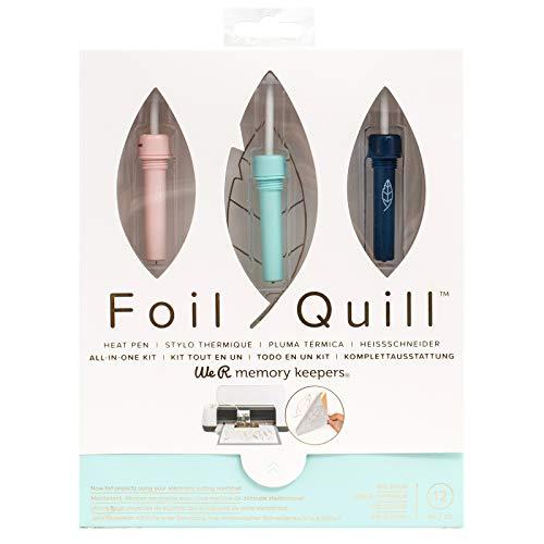 We R Memory Keepers WR660579 Foil Quill Starter Kit, Vorteilsset enthält über 12 Teile, Mehrfarbig, One Size, Piece
