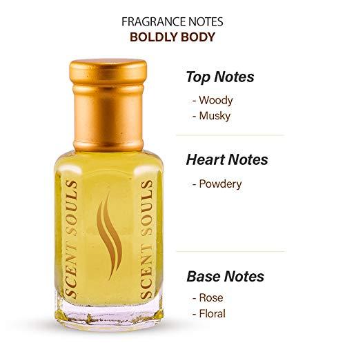 Scent Souls Boldly Body Long Lasting Attar Fragrance Perfume Oil For Women- 3 ml