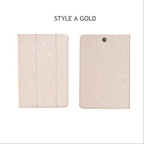 XXIUYHU Flip Case Für Hp Pro Tablet 608 G1 Magnetabdeckung Ständer Halter Pu Ledertasche Für Hp Pro Tablet 608 G1 Z8500 7,9-Zoll-Tablet-TascheStyle A Gold