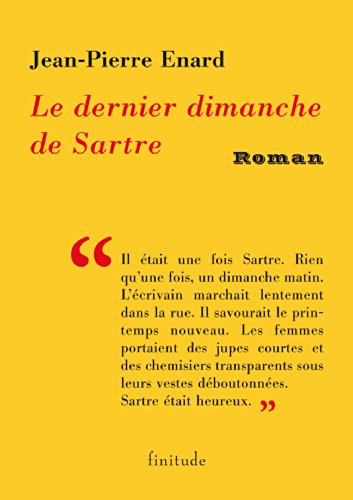 Le dernier dimanche de Sartre