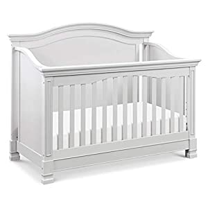 Million Dollar Baby Classic Louis 4-in-1 Convertible Crib in Cloud Grey
