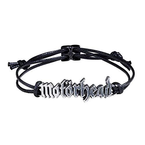Motörhead Band Logo Armband Motorhead lizenziertes Merchandise