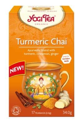 YOGI TEA | Turmeric Chai - og | 5 x 17 Bags (UK)