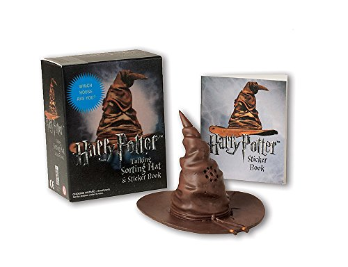 Harry Potter Talking Sorting Hat and Sticker Book: Which House Are You? (RP Minis)