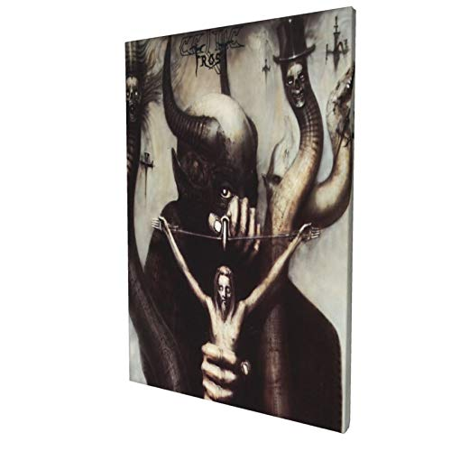 SAMWISH Celtic Frost Picture Print Poster Wall Art Painting Canvas Gift Decor Home Posters Decorative 12x18in
