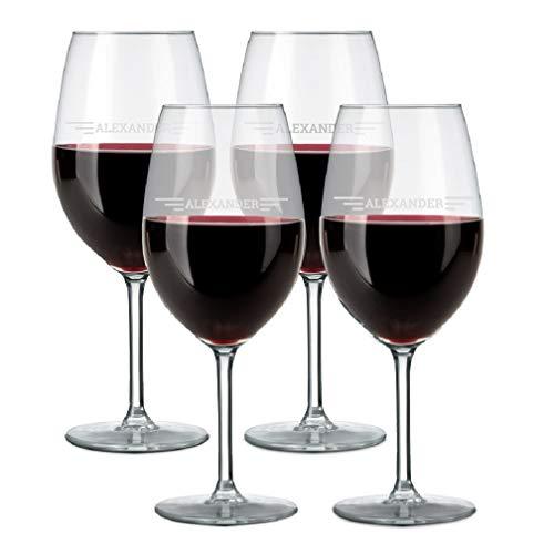 YourSurprise Copa de Vino Tinto Personalizada - Copa de Vino Tinto con...