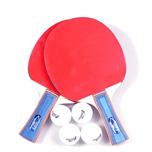 ERSD Tischtennisschlägerset Unterhaltung Tischtennisschläger Jugend Grundtrainingsschläger (Farbe : Pen-hold)