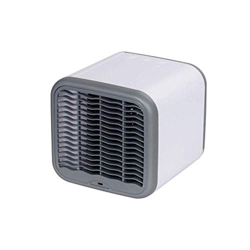 HYY-YY USB Removable Mini Air Cooler Cold Fan Office Dormitory Mini Portable Cooling Fan (Color : White, Size : 16.5x17cm)