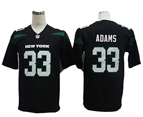 TIEON Jets camisetas de fútbol número 33 ADAMS número 14 DARNOLD No. 26 BELL camisetas de fútbol elástico transpirable tejido de secado rápido C-XXL