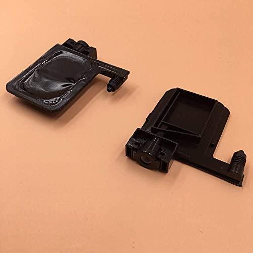 Zubehör für Drucker PRTA19710 3mmX2mm Schwarz Big UV Ink Damper für Ep-s0n DX4 DX5 Big Dumper/für Roland für Mimaki für Allwin Eco Solvent Printer Big Damper 10Pcs/Lot