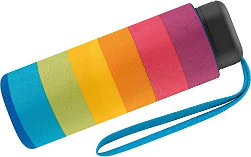 Benetton Taschenschirm Ultra Mini - Multistripe Regenbogen