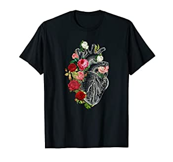 Anatomical Heart And Flowers Show Your Love Women Men T-Shirt