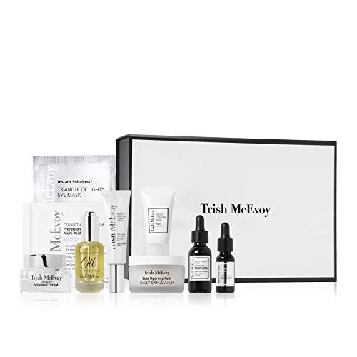 Trish McEvoy Power of Skincare Collection - Carpe Diem Volume 2 - Skincare 5 Step Process Cleanse, Exfoliate, Hydrate, Protect, Repair