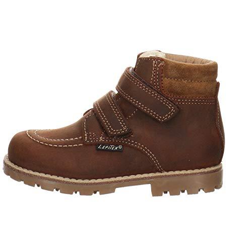 Lepi Baby Jungen 9339LEQ Klassische Stiefel, Gelb (Siena), 24 EU