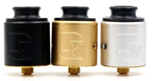 Skill RDA Atomizer Rebuildable Dripping Tank 2 Post Airflow Control 510 Coil