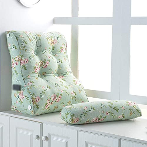 YVX Almohada Triangular Almohadas de ángulo Ajustable Cojín para sofá Cama Silla de Oficina Soporte Maternal, Almohada para Dormir (Color: C, Tamaño: 55 cm)