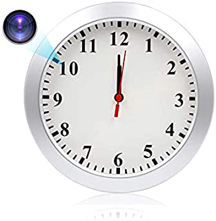 WiFi Wall Clock Camera for Home Office Security TTCDBF HD 1080P Mini Security IP Camera Wireless Nanny Baby Cam with Motion Detection, Record Video, No Night Vision.
