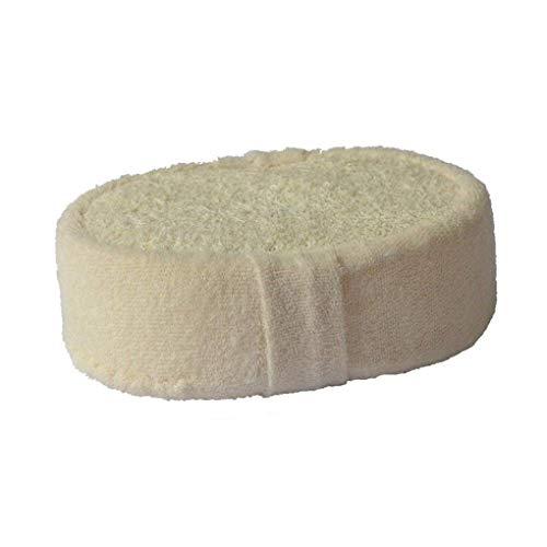 LilyJudy Esponja natural de Luffa para ducha de bolas de baño para todo el cuerpo cepillo de masaje saludable