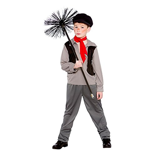 BOY'S VICTORIAN CHIMNEY SWEEP FANCY DRESS COSTUME