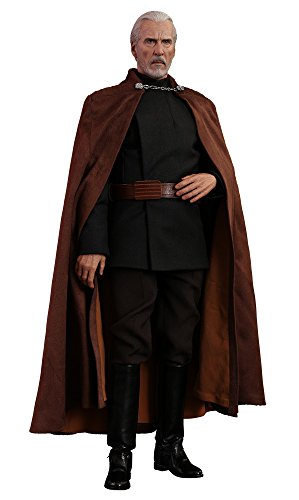 Hot Toys Star Wars: Movie Masterpiece Series Episode II: Attack of The Clones Count Dooku 1/6 Sixth Scale Collectible Figure MMS496