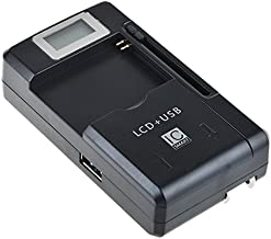 SLLEA Universal LCD Battery Charger for Audiovox XMp3i XPMP3H1 XM Satellite L01L40321