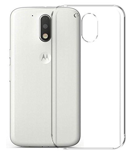 Gioiabazaar Crystal Clear Transparent Hard Back Case Cover for Motorola Moto G4 Play