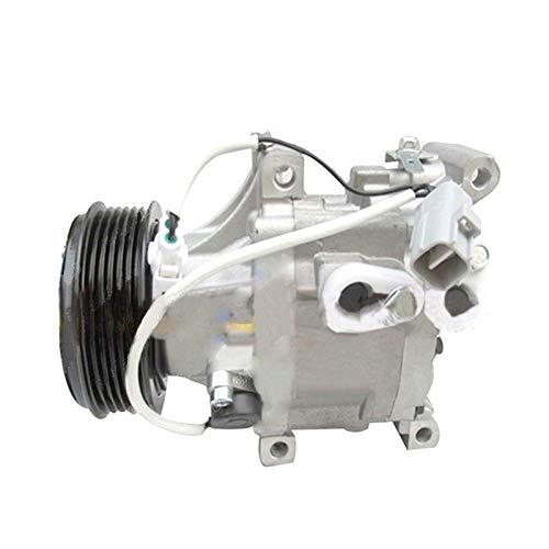 SINOCMP - Compressore AC 88320-1A550 883201A550 compressore d\'Aria condizionata AC compressore Frizione per Toyota Yaris 1.3 1.5 SCSA06C, 6 Pezzi