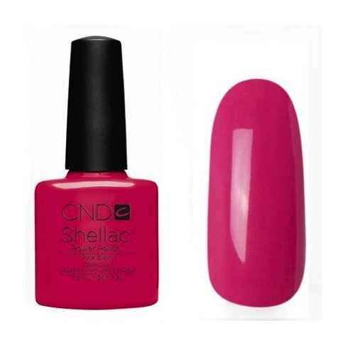 CND Shellac UV Gel Soak Off Nail Polish Choose From 89 Colours Inc All the Collections & The New Garden Muse Collection(Allthingsbountiful) (PINK BIKINI (SUMMER SPLASH COLLECTION)) by Shellac