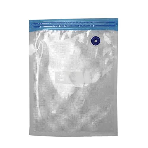 FairytaleMM Praktisches Design Tragbare Vakuumiergerät vakuumbeutel Für Lagerung Von Lebensmitteln Wiederverwendbare Lebensmittelverpackung Organizer für Zuhause Küche-transparent (22x28 cm)