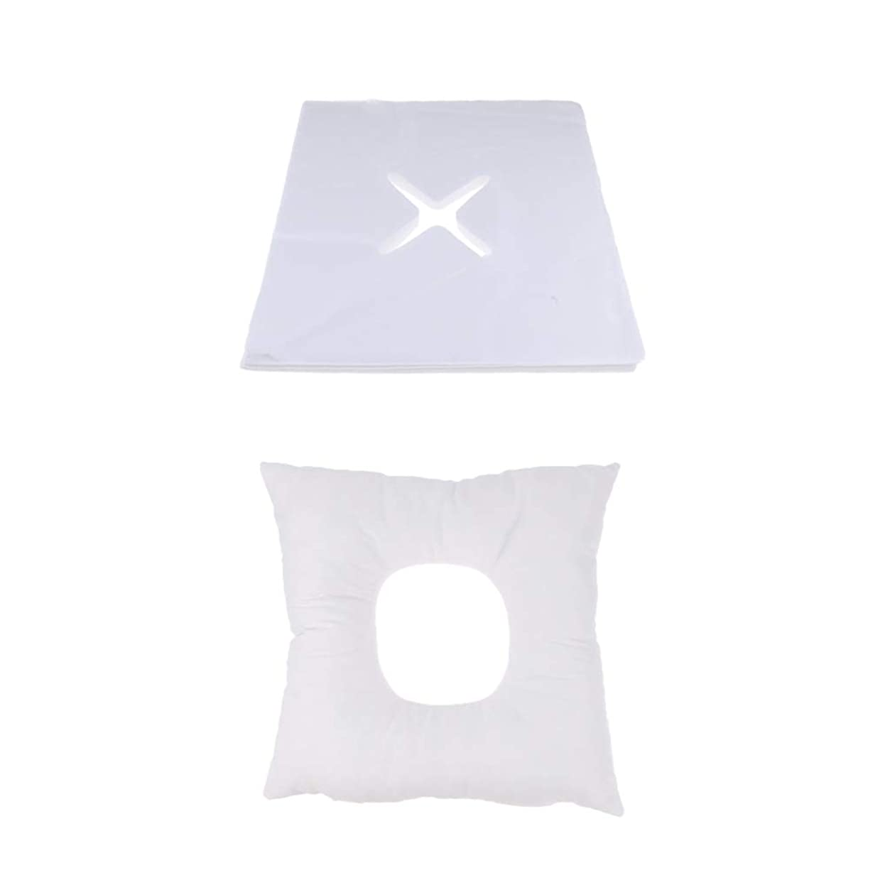 ほのかお茶ハンサムD DOLITY マッサージ枕 顔枕 フェイスマット 200個使い捨てカバー付き 柔らかく快適