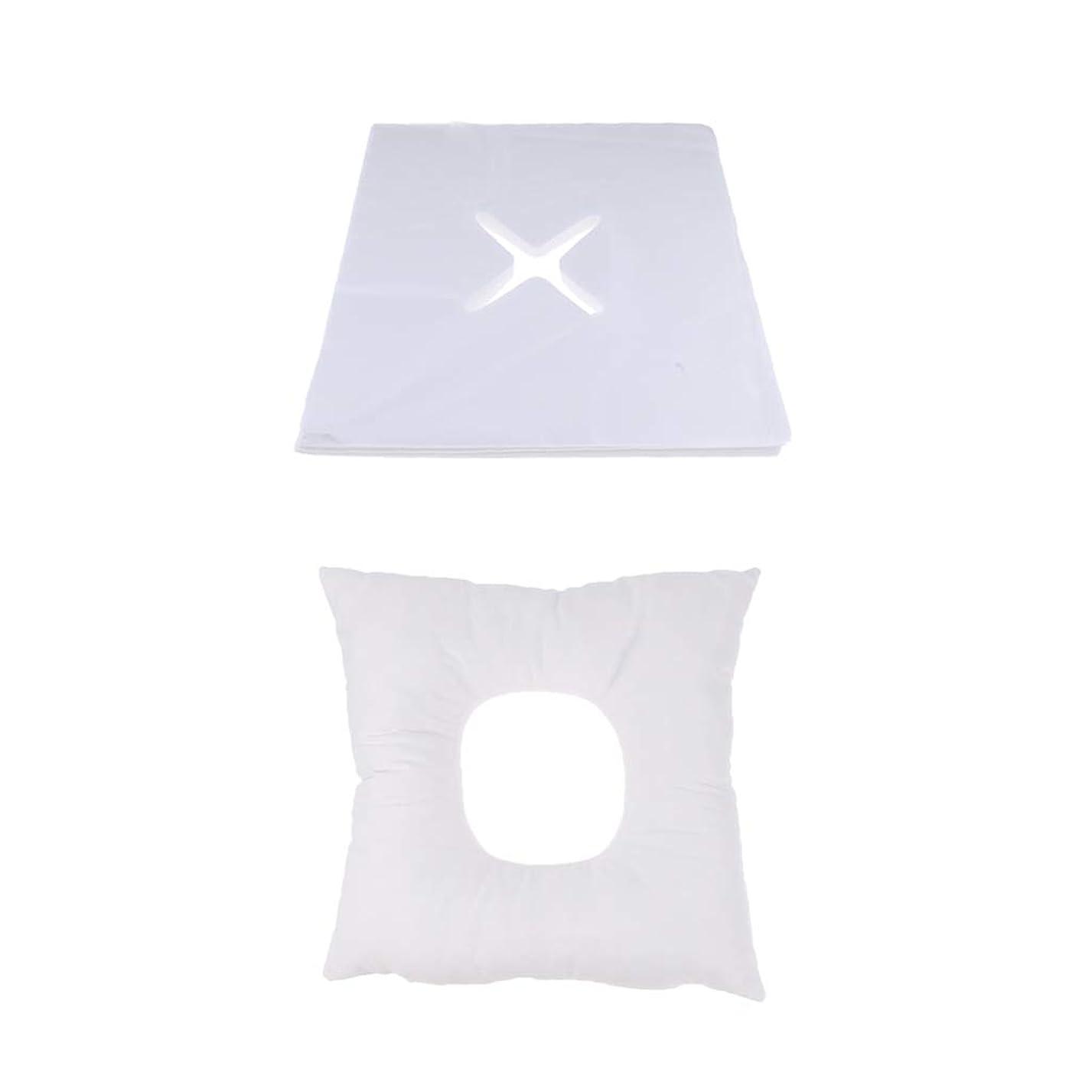 それる有益お母さんD DOLITY マッサージ枕 顔枕 フェイスマット 200個使い捨てカバー付き 柔らかく快適