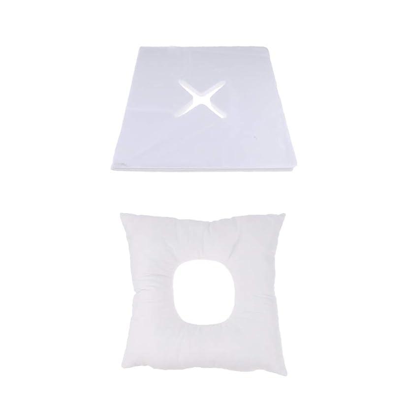 ビジター承知しました先住民D DOLITY マッサージ枕 顔枕 フェイスマット 200個使い捨てカバー付き 柔らかく快適