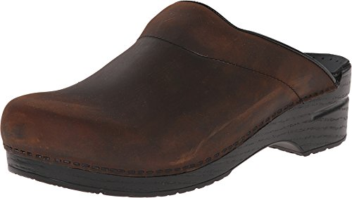 Brown Leather Hippy Shoes for Men