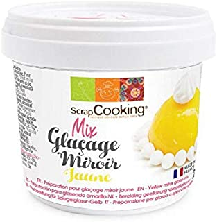 Scrapcooking Pot Mix glaçage Miroir Jaune 220 g