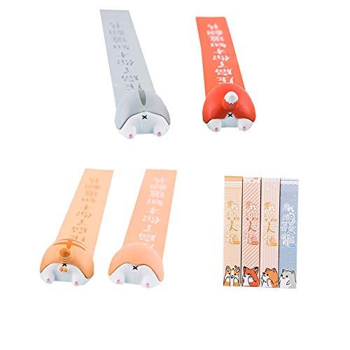 Cestlafit Classica Magnetic Tape Segnalibro, Cassette Segnalibro, Segnalibri Magnetici Per Bambini, Segnalibro Del Mestiere, Segnalibro Regalo, Confezione Da 3