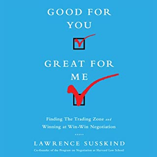 Good for You, Great for Me audiobook cover art