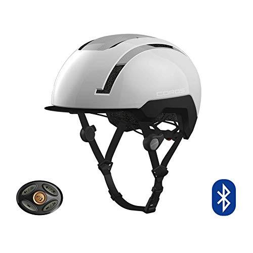 COROS SafeSound Urban - Sistema de Sonido para Casco de Ciclismo con Sistema de Apertura de Orejas, Llamadas de teléfono con música Bluetooth, Control Remoto Inteligente, Ligero