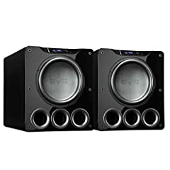 "(2) PB16-Ultra 1500 Watt 16"" Ported Cabinet Subwoofer (Piano Gloss Black)"