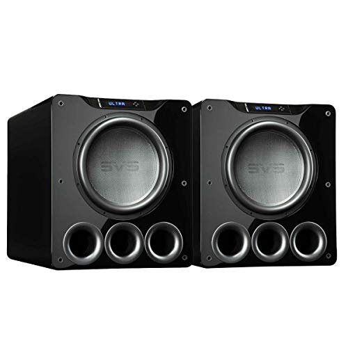 Review SVS PB16-Ultra 1500 Watt 16 Ported Cabinet Subwoofer (Piano Gloss Black - Pair)