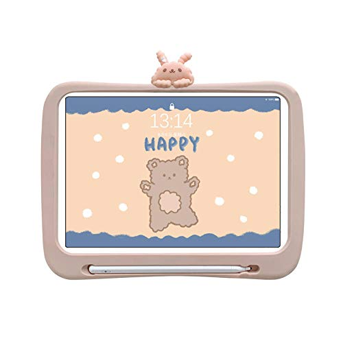 Children 2020 ipadpro11 inch protective cover mini4 flat silicone case-Bunny 2018-9.7 inch