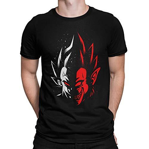 Camisetas La Colmena 4033-Dragon Ball - Vegeta Face Ozaru (albertocubatas)
