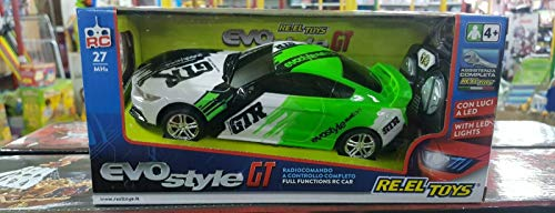 Re.El Toys Evo Style GT Light Blue Rc Mezzi Giocattolo Auto, Multicolore, 8001059022458