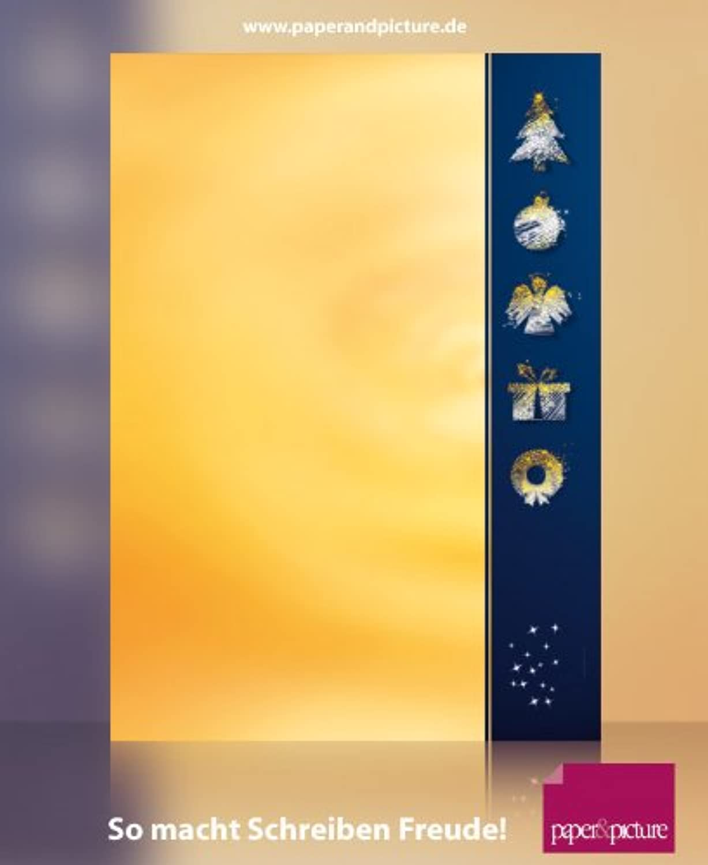WEIHNACHTSPIKTOGRAMME, 100 Blatt hochwertiges Weihnachtsbriefpapier 100g qm und 100 passende passende passende Motivumschläge B006324WF8 | Verkauf  | Haben Wir Lob Von Kunden Gewonnen  | Günstige  f23922