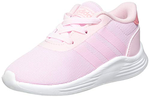 adidas Unisex Baby Lite Racer 2.0 Sneaker, Clear Pink/Clear Pink/Super Pop, 26 EU
