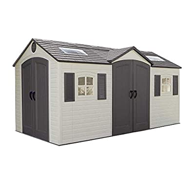 Lifetime 60079 Dual Entry Garden Shed