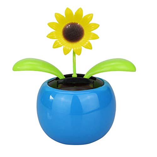 Cute Dancing Solar Flower Car Decoration Auto Swing Bloem Sunflower Cartoon Auto Decoratie