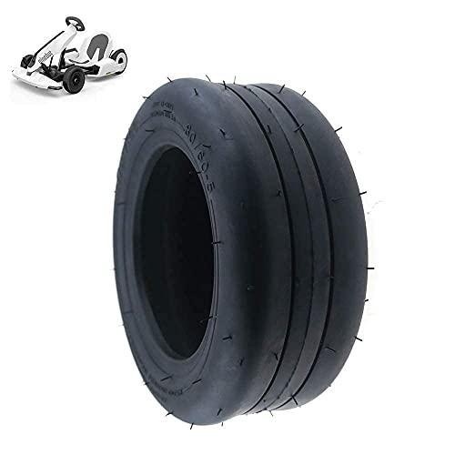 Neumáticos, Neumático de Scooter eléctrico, Neumático de vacío 80/60-5, Grueso y Resistente al Desgaste, Adecuado para Kart Kart, Accesorios de modificación de neumáticos de Kart n. ° 9, 2 Piezas