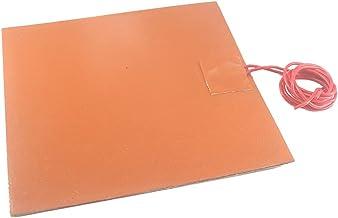 durable 12 / 24V Silicone Heater Pad 150x150mm 1.5-1.8mm Dikte Elektrische verwarmer Element Vriesbestendig Verwarming Pad...